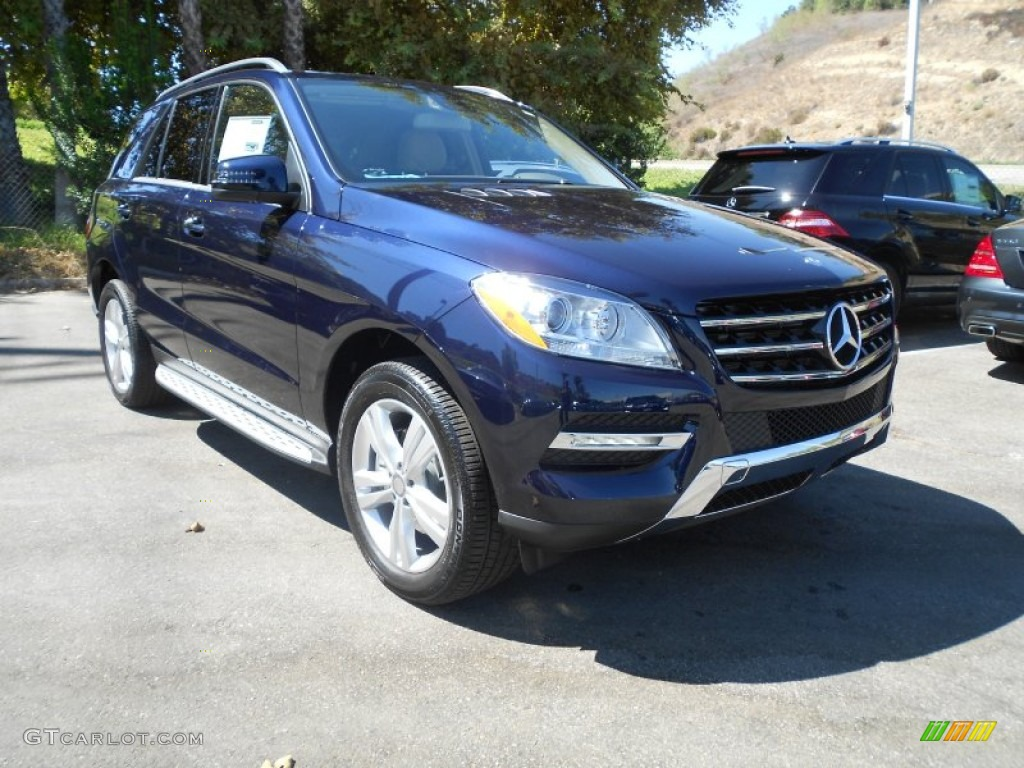 2013 lunar blue metallic mercedes benz ml 350 4matic