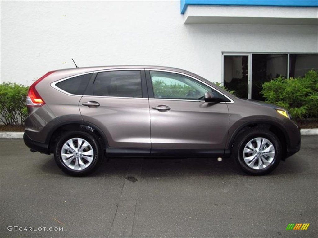 Urban Titanium Metallic 2012 Honda Cr V Ex Exterior Photo 70860559 Gtcarlot Com