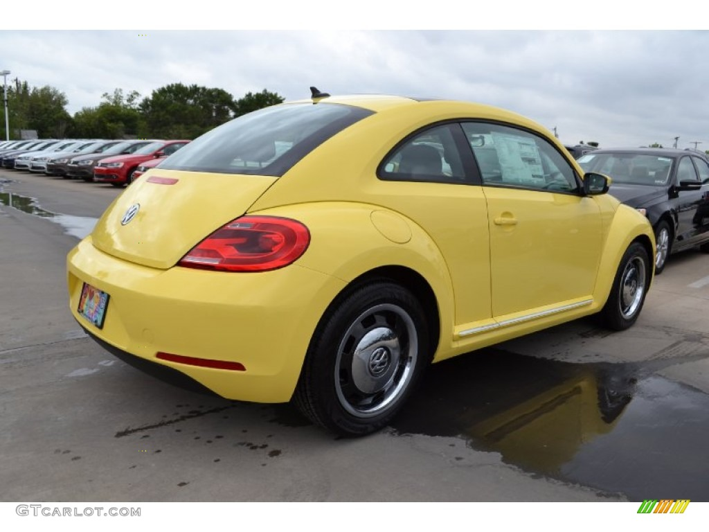 2013 yellow rush volkswagen beetle 2 5l 70818651 photo 2. Black Bedroom Furniture Sets. Home Design Ideas