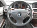 Basalt Grey/Flannel Grey Steering Wheel Photo for 2003 BMW 7 Series #70870876