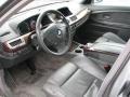 Basalt Grey/Flannel Grey Prime Interior Photo for 2003 BMW 7 Series #70870888