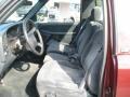 2000 Dark Carmine Red Metallic Chevrolet Silverado 1500 LS Regular Cab 4x4  photo #9