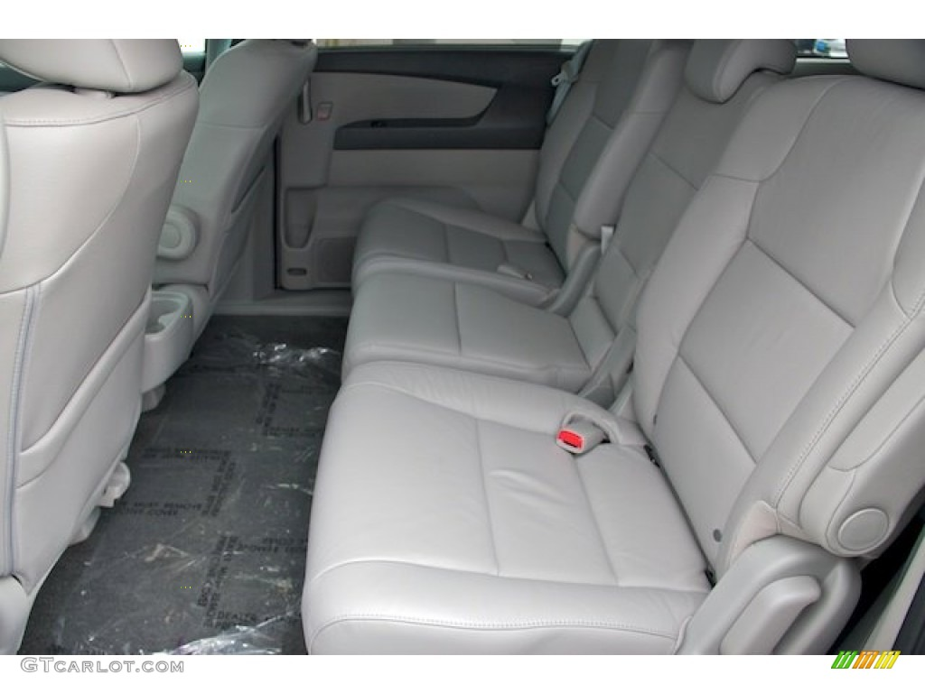 Gray Interior 2013 Honda Odyssey Ex L Photo 70894033