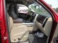 2011 Deep Cherry Red Crystal Pearl Dodge Ram 1500 Laramie Quad Cab 4x4  photo #14
