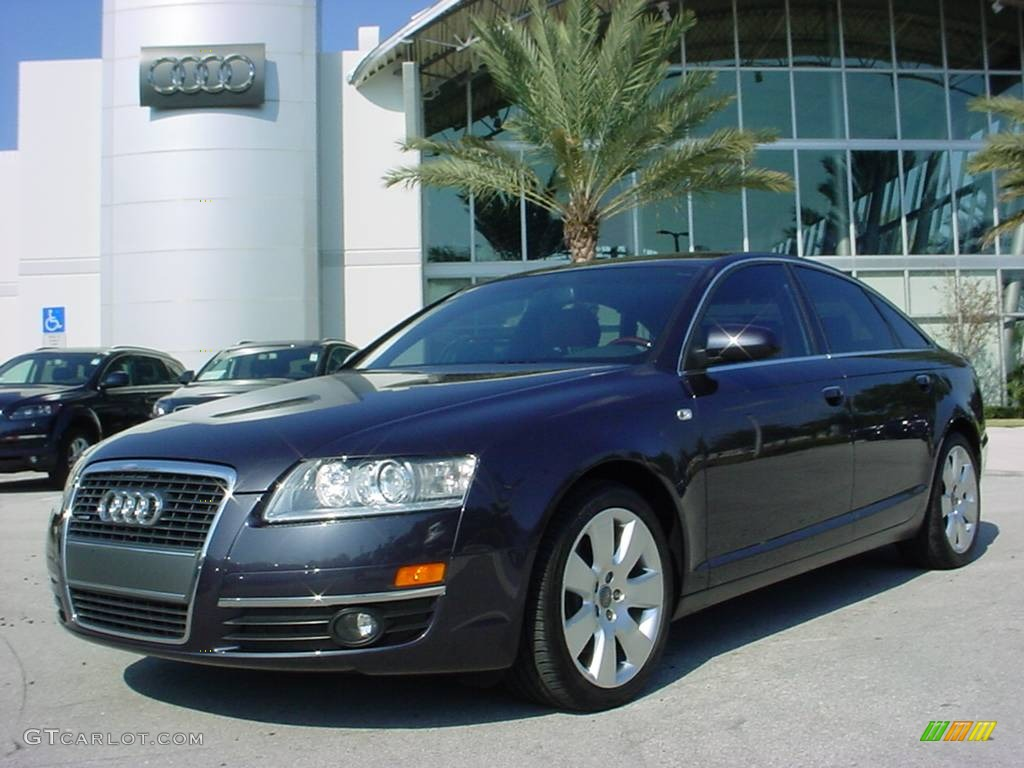 2006 night blue pearl audi a6 3 2 quattro sedan 706174 car color galleries. Black Bedroom Furniture Sets. Home Design Ideas