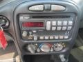 2001 Pontiac Grand Am Dark Pewter Interior Audio System Photo