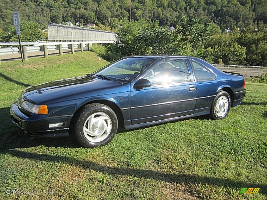 1990 Ford Thunderbird Blue