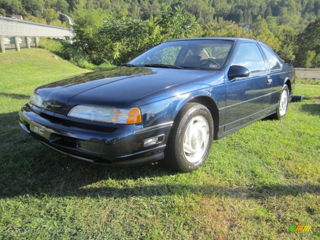 Twilight Blue Metallic 1989 Ford Thunderbird SC Super ...