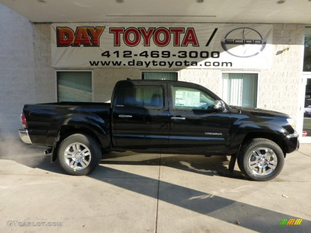 2013 Black Toyota Tacoma V6 Limited Double Cab 4x4 70918830 Car Color Galleries