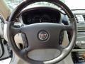 2010 Cadillac DTS Shale/Cocoa Interior Steering Wheel Photo