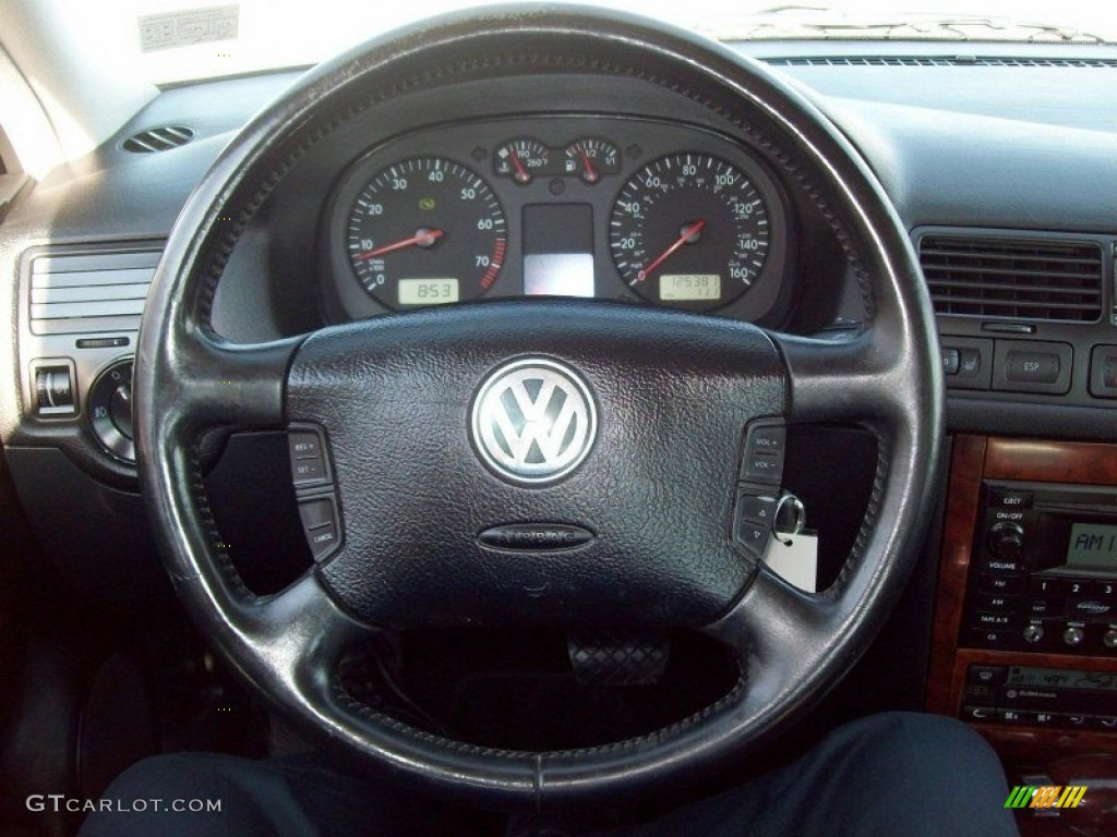 2003 volkswagen jetta glx sedan black steering wheel photo. Black Bedroom Furniture Sets. Home Design Ideas