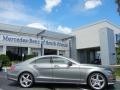 Palladium Silver Metallic 2012 Mercedes-Benz CLS 550 Coupe