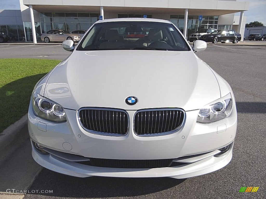 Mineral White Metallic 2013 Bmw 3 Series 335i Coupe