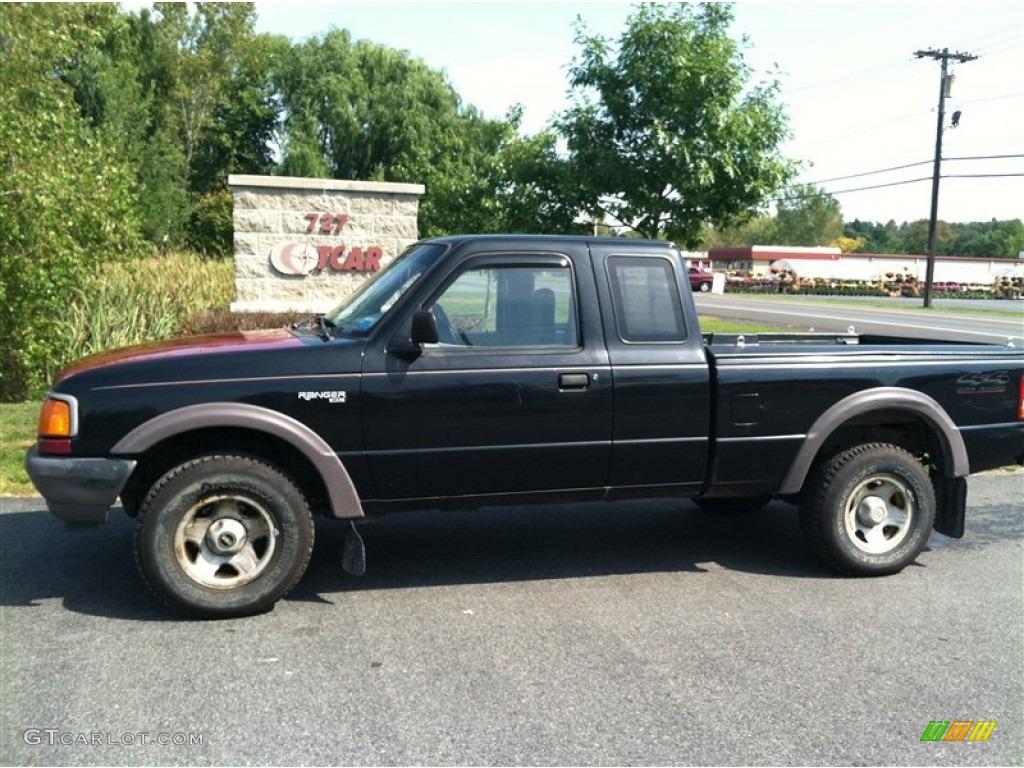 black ford ranger - 2000 Ford Ranger Black