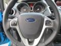Charcoal Black Steering Wheel Photo for 2013 Ford Fiesta #70948114