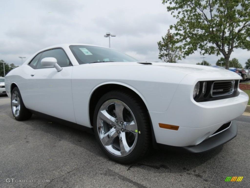 2013 Bright White Dodge Challenger Sxt Plus 70925788 Photo 4 Car Color Galleries