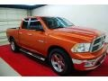 Sunburst Orange Pearl 2010 Dodge Ram 1500 Gallery
