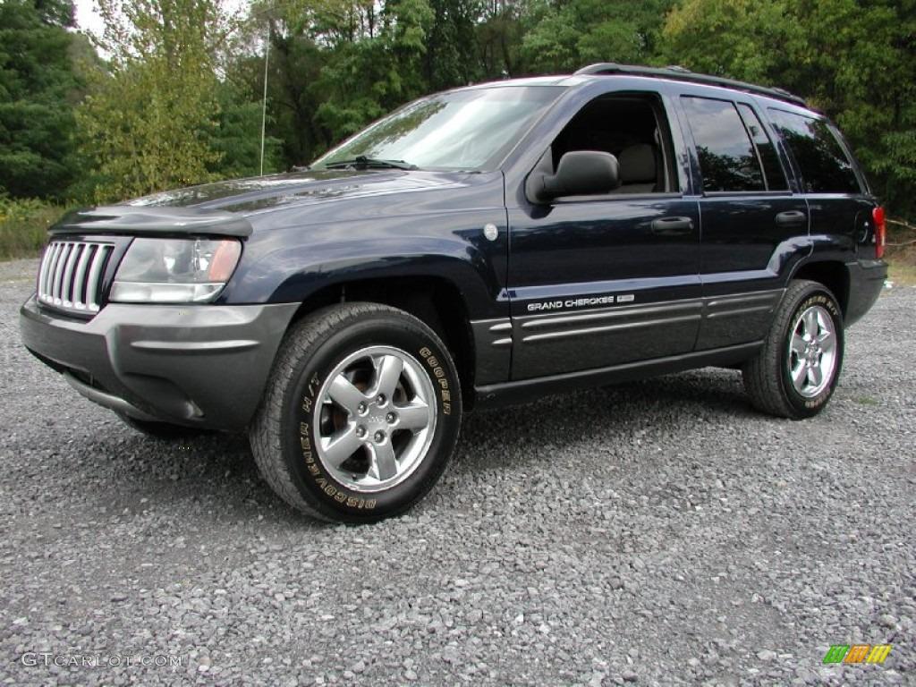 Midnight blue pearl 2004 jeep grand cherokee columbia edition 4x4 exterior photo 70973758