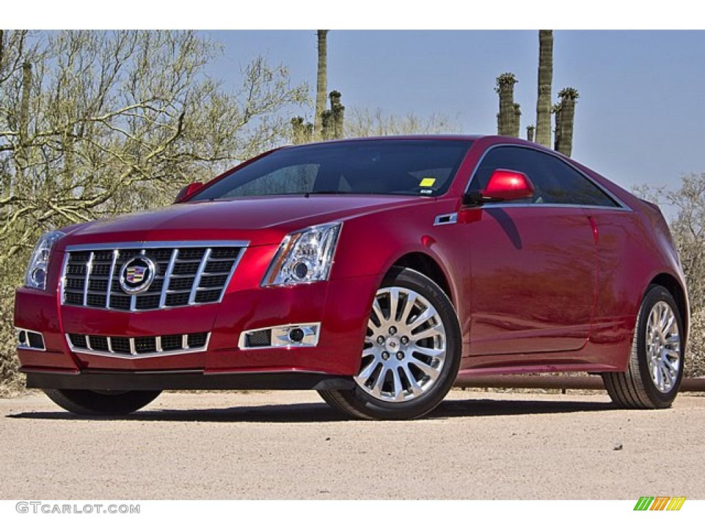 crystal red tintcoat 2012 cadillac cts coupe exterior photo 70975816. Black Bedroom Furniture Sets. Home Design Ideas