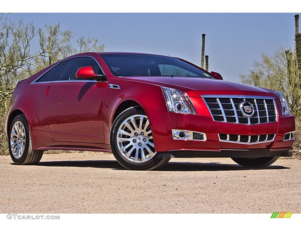 2012 Crystal Red Tintcoat Cadillac Cts Coupe 70963189 Photo 5 Gtcarlot Com Car Color Galleries