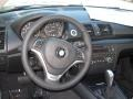 2013 BMW 1 Series Oyster Interior Steering Wheel Photo