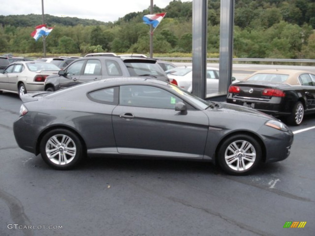Carbon Gray 2007 Hyundai Tiburon GS Exterior Photo #70994377
