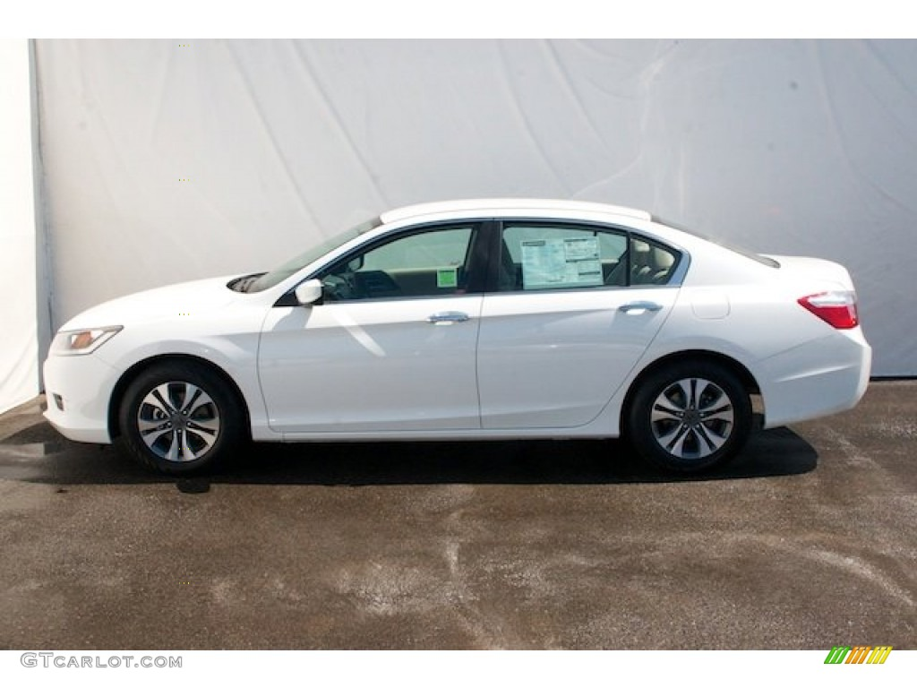 white orchid pearl 2013 honda accord lx sedan exterior photo 70997662. Black Bedroom Furniture Sets. Home Design Ideas