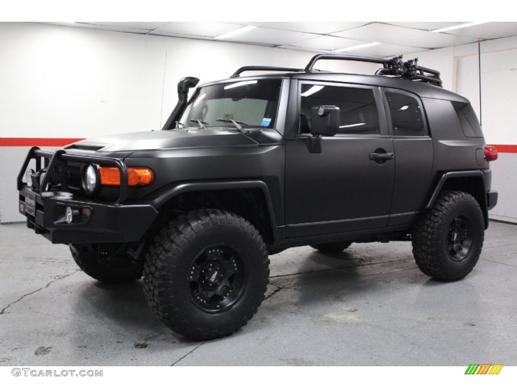 black diamond 2007 toyota fj cruiser 4wd exterior photo 70998367. Black Bedroom Furniture Sets. Home Design Ideas