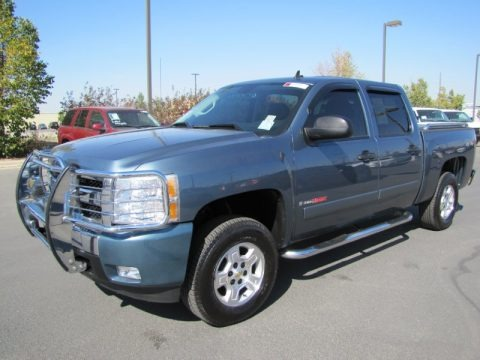 2007 chevrolet silverado 1500 lt crew cab 4x4 data info. Black Bedroom Furniture Sets. Home Design Ideas