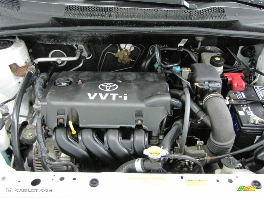 2002 Toyota Echo Sedan Engine Photos