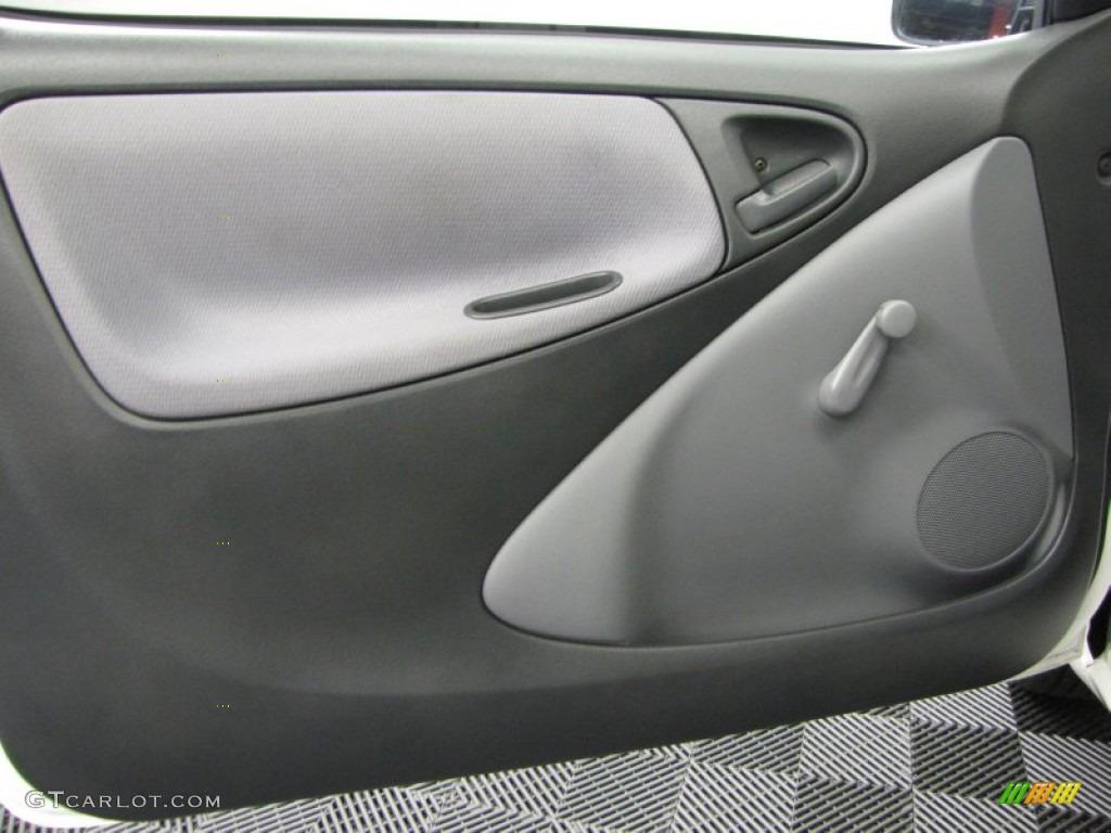 2002 Toyota Echo Sedan Shadow Gray Door Panel Photo 71006459 Gtcarlot Com