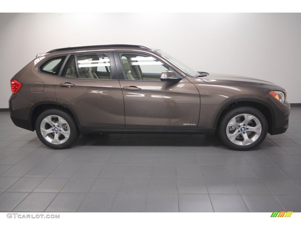 sparkling bronze metallic 2013 bmw x1 sdrive 28i exterior. Black Bedroom Furniture Sets. Home Design Ideas