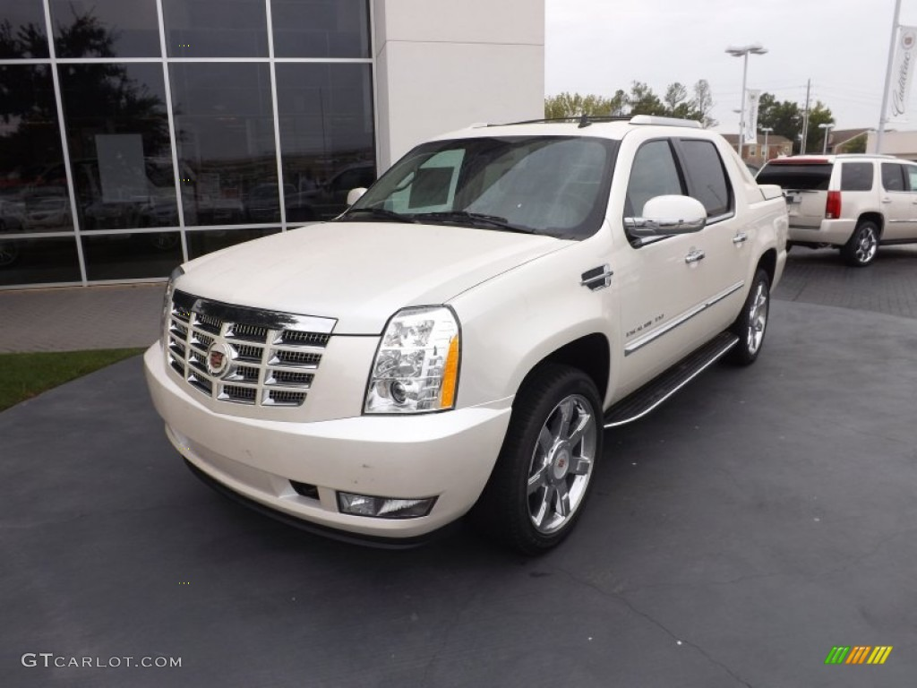 2013 Escalade EXT Luxury AWD - White Diamond Tricoat / Cashmere/Cocoa ...