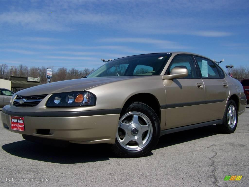 2005 sandstone metallic chevrolet impala 7058235. Black Bedroom Furniture Sets. Home Design Ideas