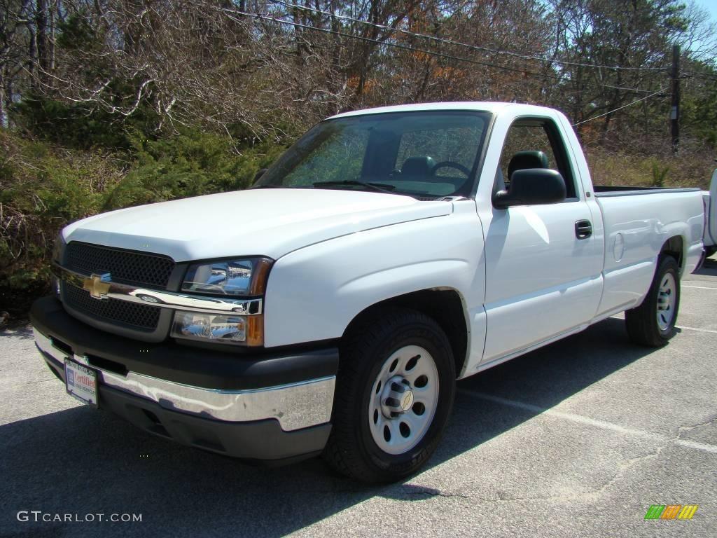 2005 Chevrolet Silverado 1500 Regular Cab >> 2005 Summit White Chevrolet Silverado 1500 Regular Cab