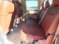 2012 White Platinum Metallic Tri-Coat Ford F250 Super Duty King Ranch Crew Cab 4x4  photo #4