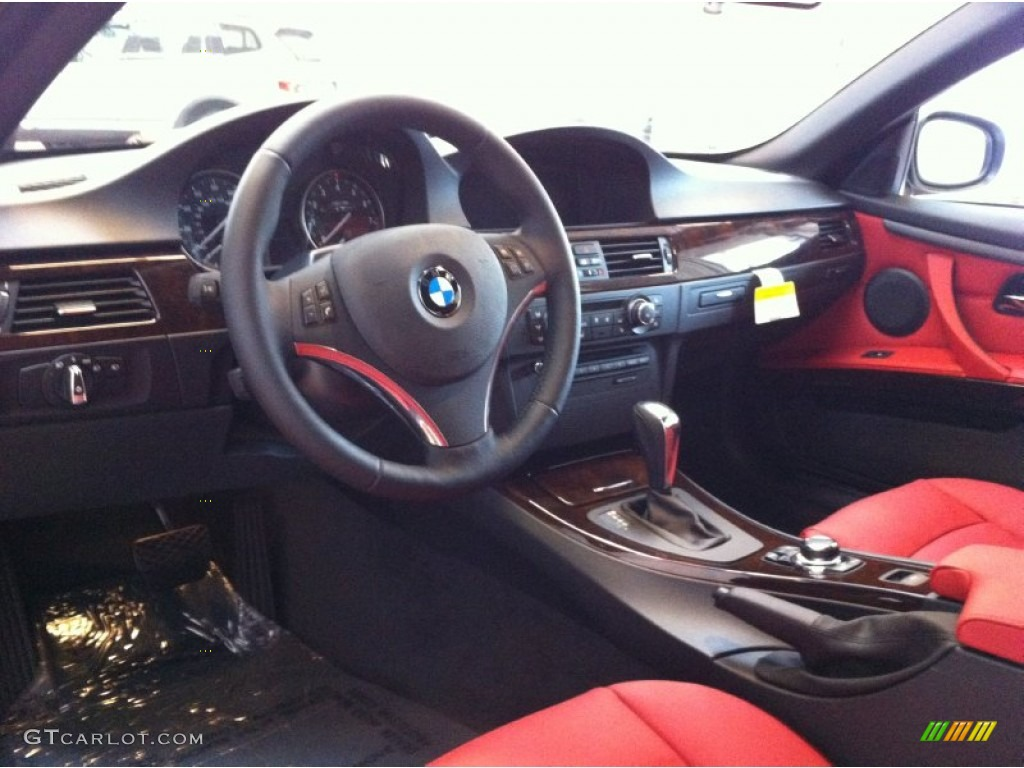 Coral Red Black Interior 2013 Bmw 3 Series 328i Convertible Photo 71032226