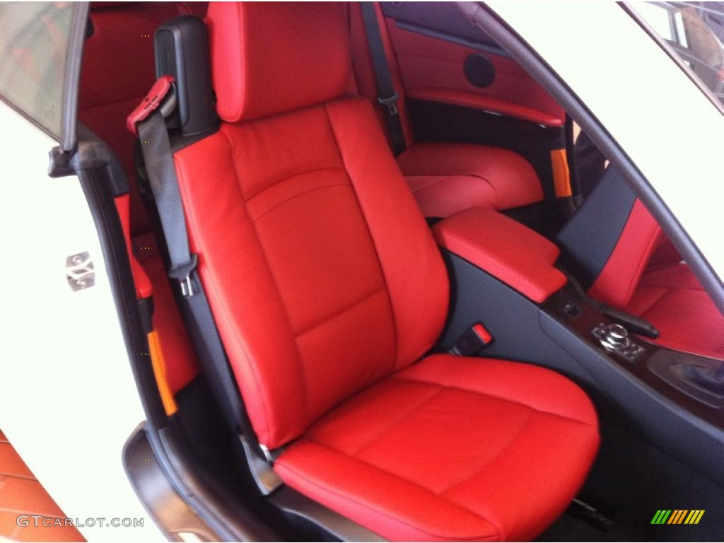 Coral Red Black Interior 2013 Bmw 3 Series 328i Convertible Photo 71032239