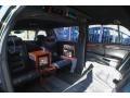 2001 Cadillac DeVille Black Interior Rear Seat Photo