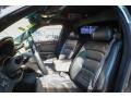 2001 Cadillac DeVille Black Interior Front Seat Photo
