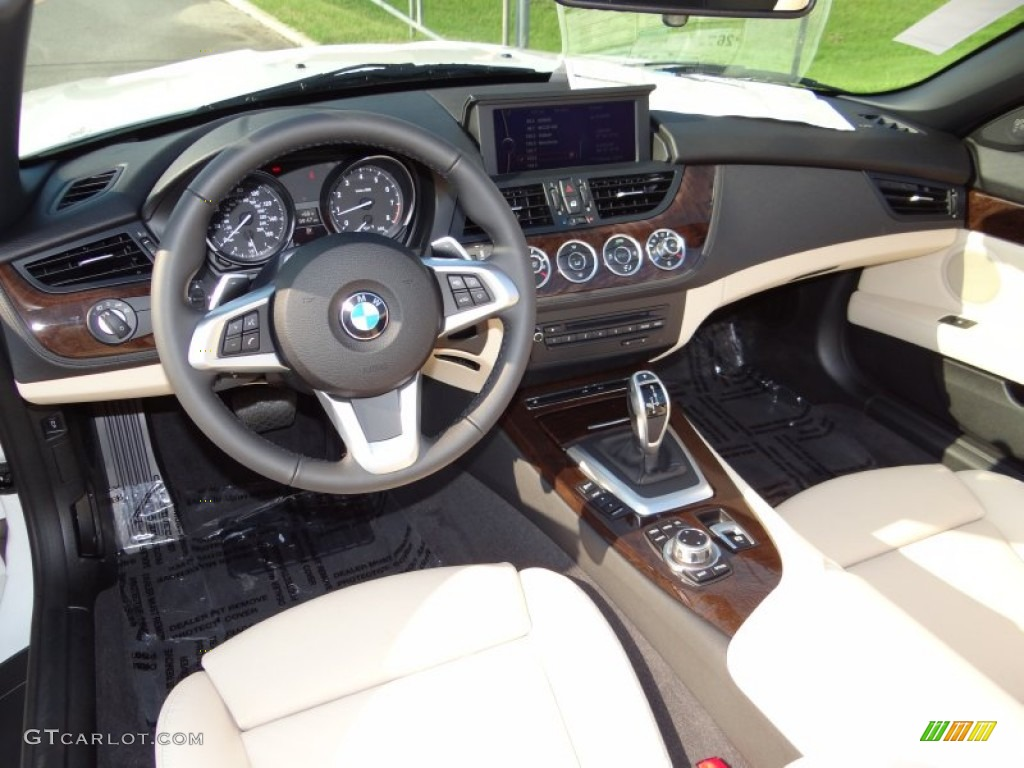 Beige Interior 2013 Bmw Z4 Sdrive 28i Photo 71035253