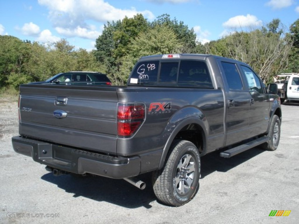 sterling gray metallic 2013 ford f150 fx4 supercrew 4x4 exterior photo 71036996. Black Bedroom Furniture Sets. Home Design Ideas