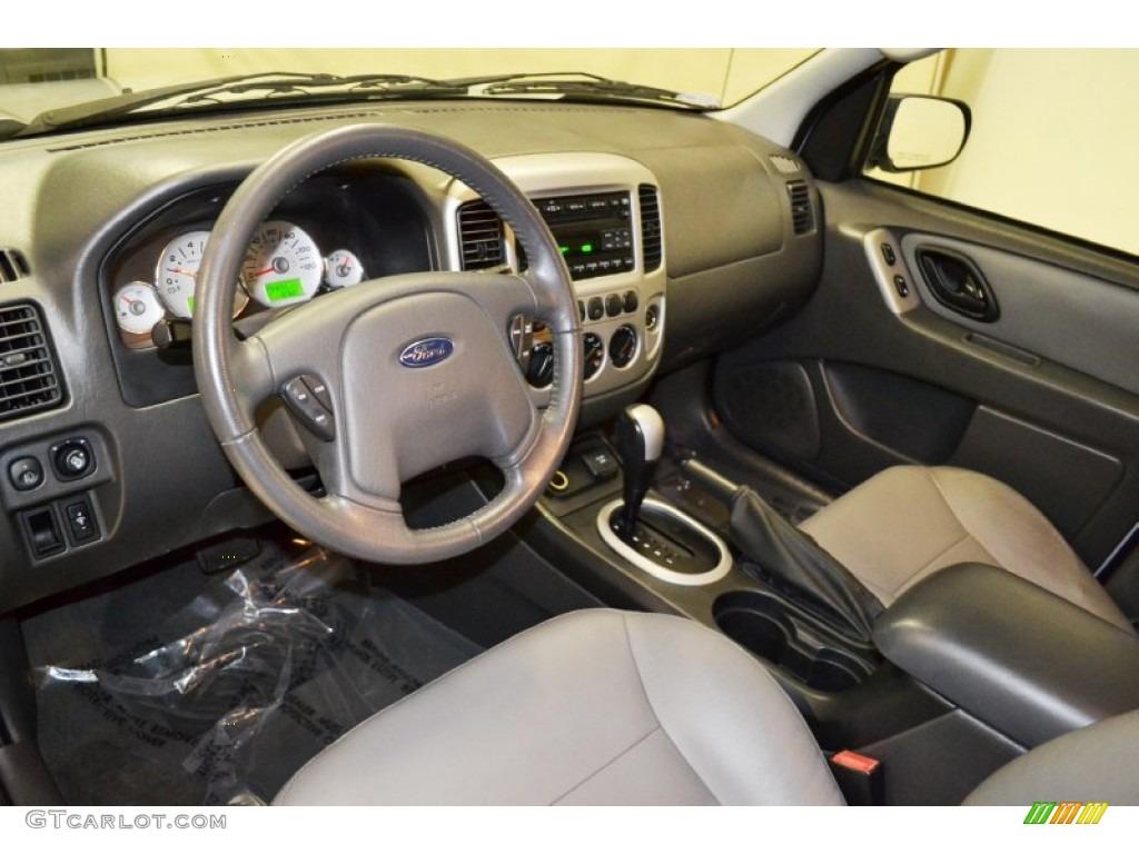 Medium Dark Flint Interior 2007 Ford Escape Hybrid Photo 71041025