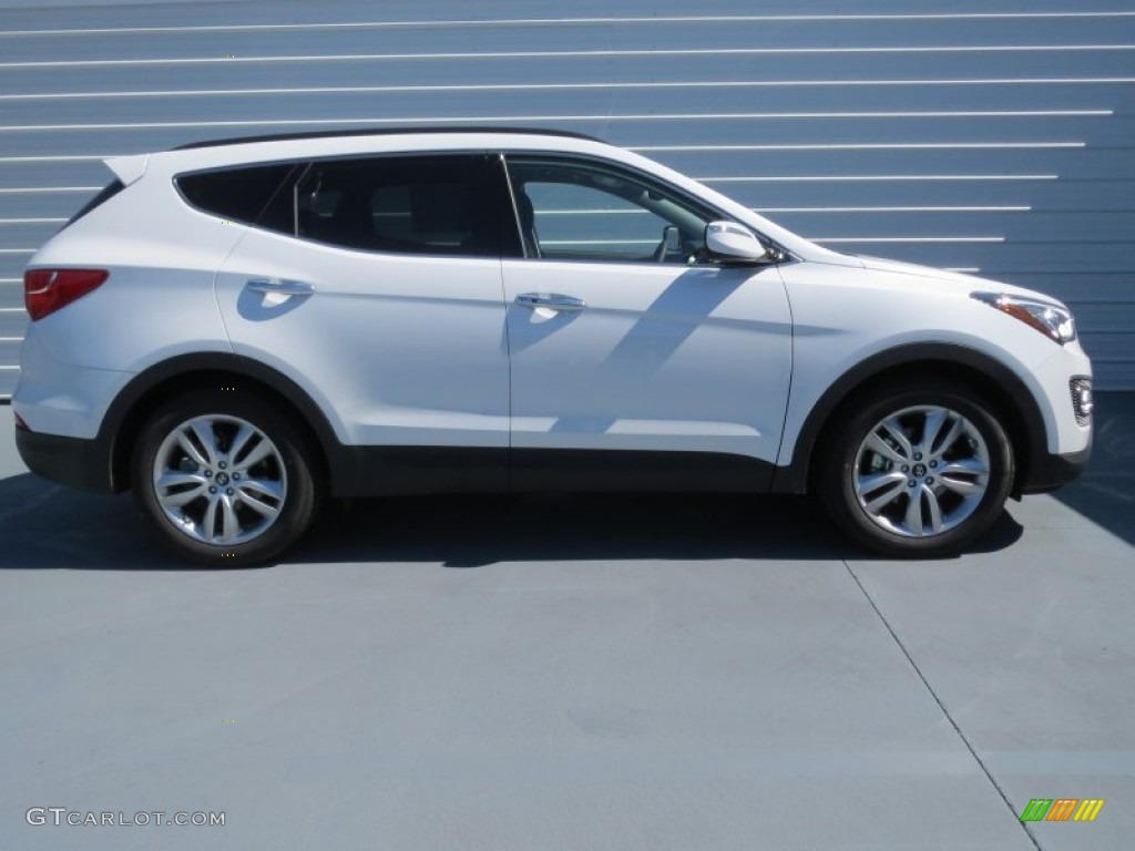 frost white pearl 2013 hyundai santa fe sport 2 0t exterior photo 71045864. Black Bedroom Furniture Sets. Home Design Ideas