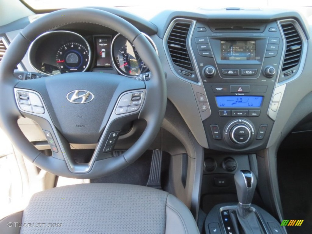 2013 Hyundai Santa Fe Sport 2 0t Gray Dashboard Photo
