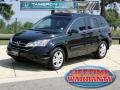 2010 Crystal Black Pearl Honda CR-V EX  photo #1
