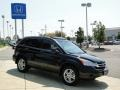 2010 Crystal Black Pearl Honda CR-V EX  photo #3