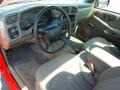 Medium Gray 2003 Chevrolet S10 Interiors
