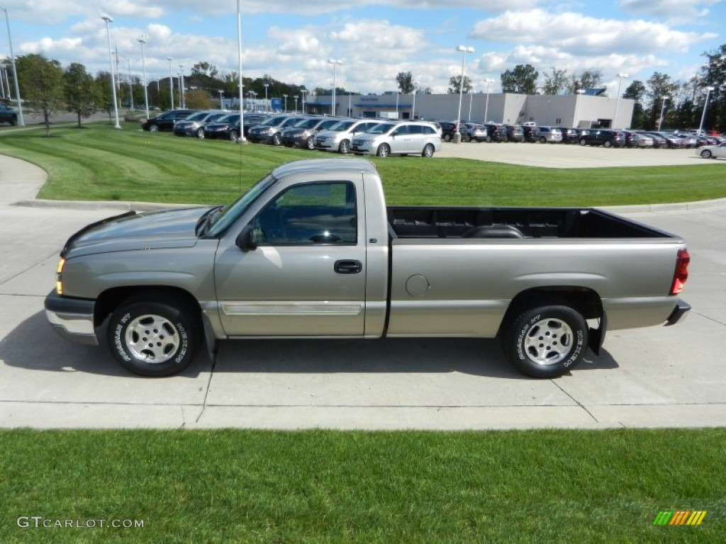 2003 chevrolet silverado 1500 ls regular cab exterior. Black Bedroom Furniture Sets. Home Design Ideas