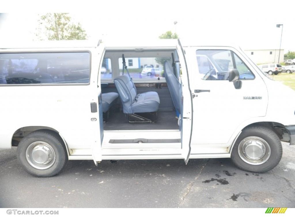 1994 dodge ram van b350 passenger wagon rear seat photo 71064031